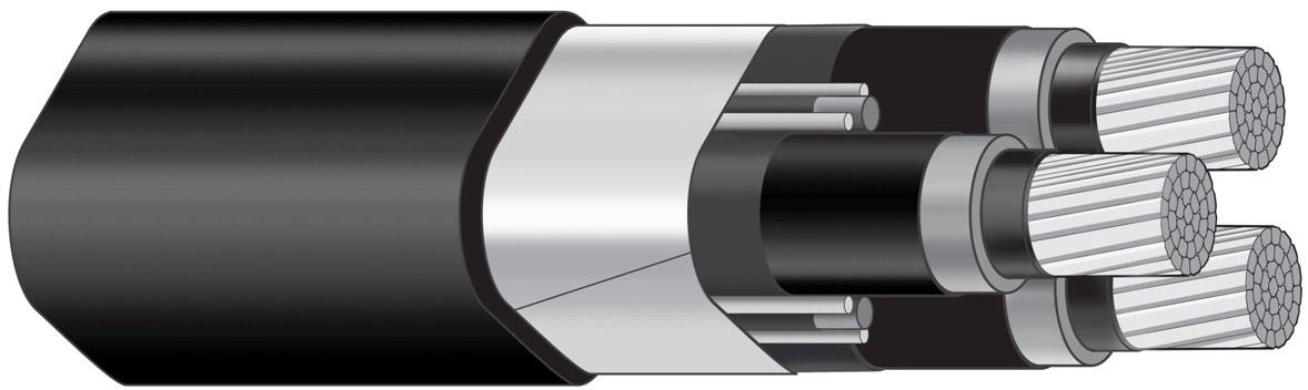 AXALJ-F TT 3X150/35 12 KV T500