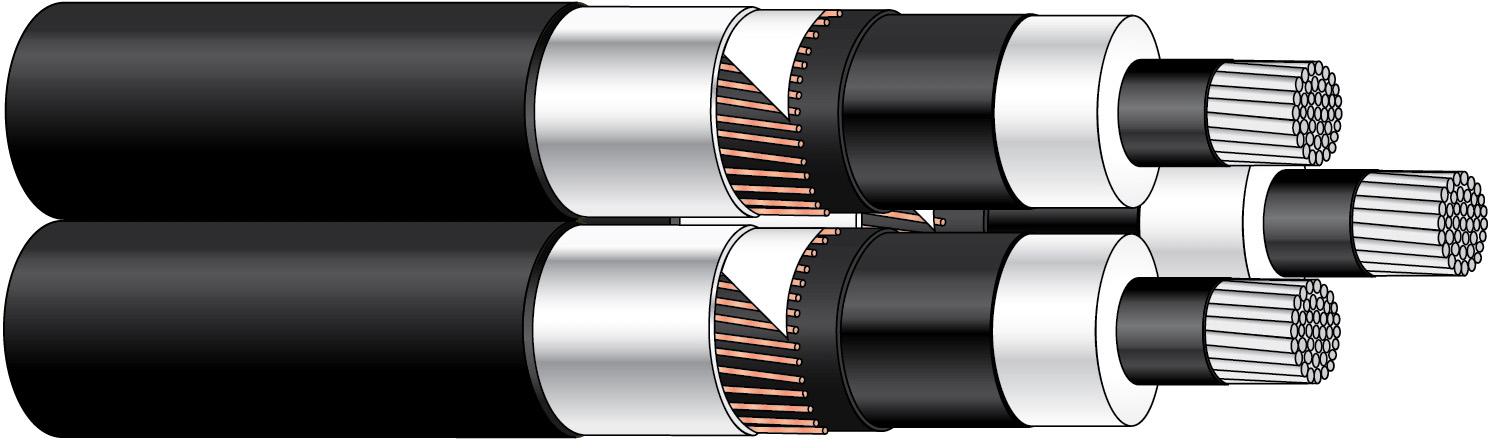 TSLF-W TT 3X95/25 12KV T500/K26