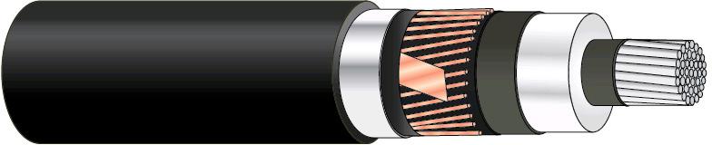 AXLJ-F TT 1X240/35 12KV T500/K18