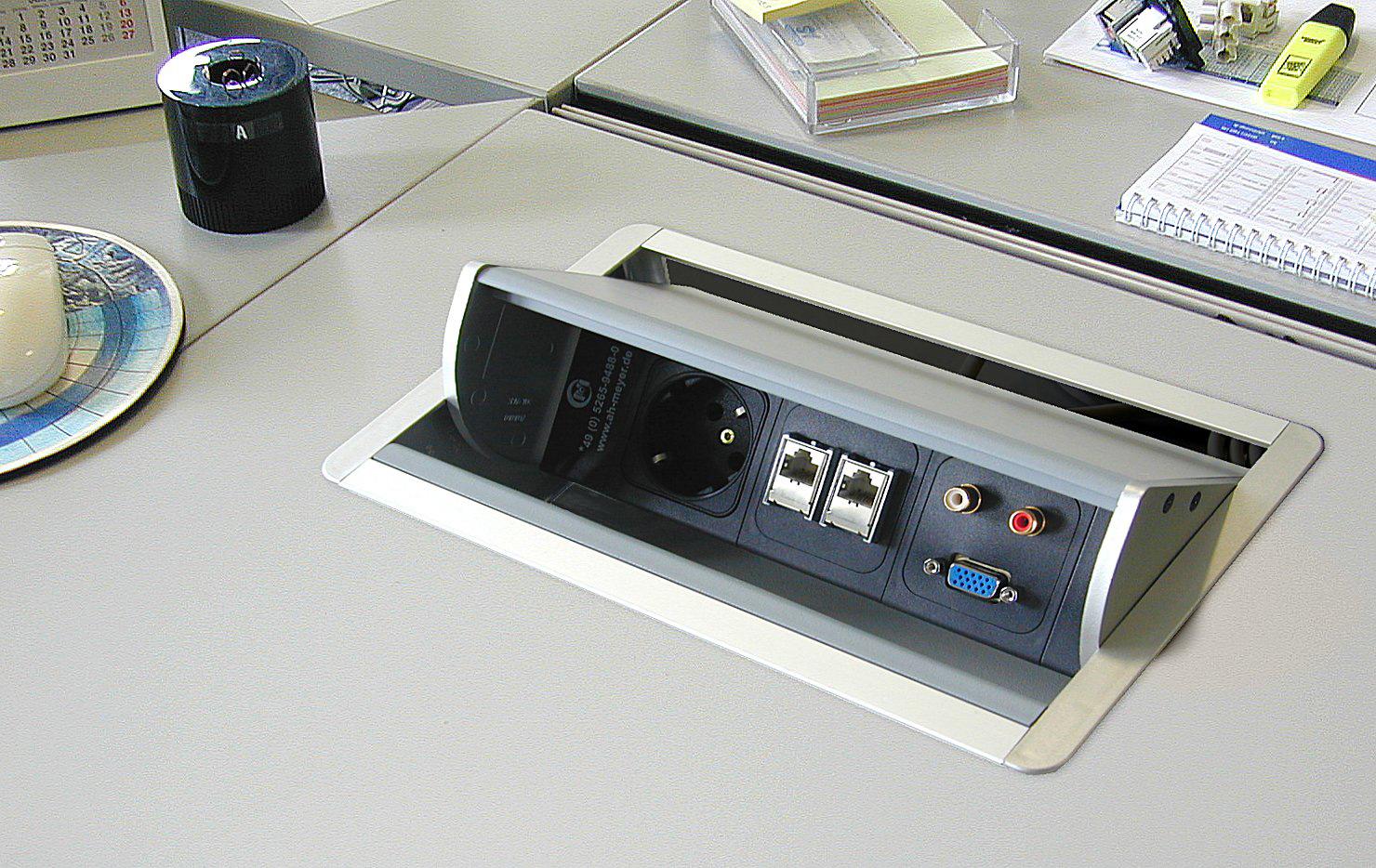 M BOX AXIAL 2EL 2XC6 VGA HDMI