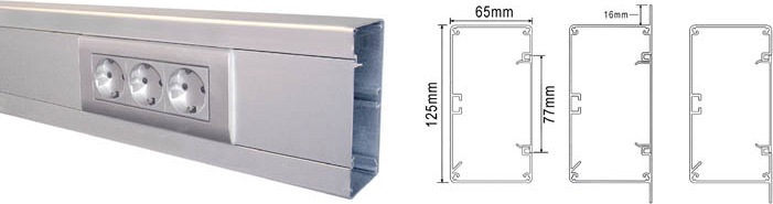 GAVEL 125X65 NATUR V125