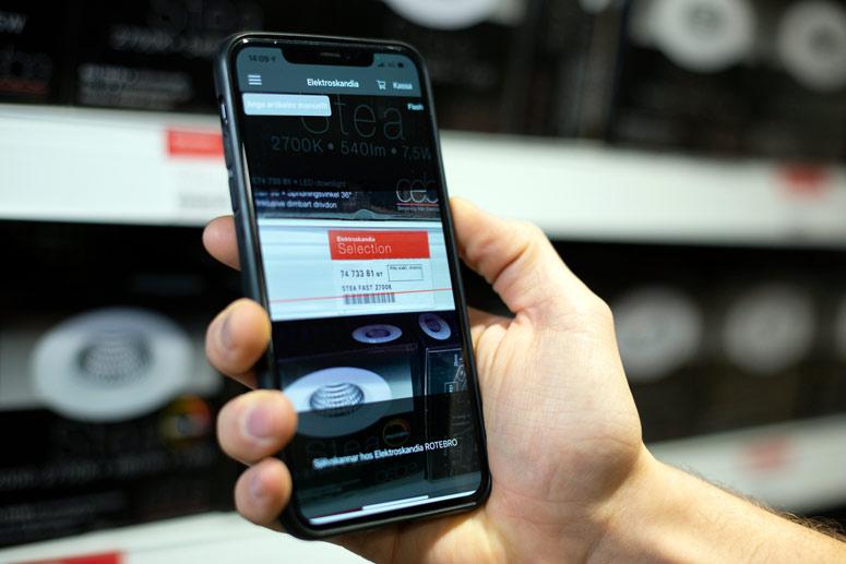 Snabbt, säkert – och du använder din egen mobil